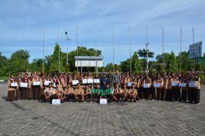 Kwarcab Pramuka Batanghari Galang Dana Korban Tsunami Lampung dan Banten