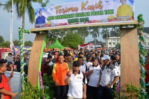 Masyarakat dan Pemerintah Berbaur Meriahkan HUT Provinsi Jambi ke 62