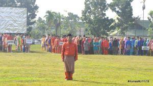 Sekda Fadhil Jadi Irup Peringati Upacara HUT Provinsi Jambi