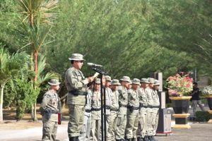 Kapolda Buka Latihan Pratugas Brimob untuk Pengamanan PT Freeport
