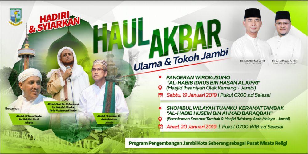 Pemkot Jambi Gelar Haul Akbar Ulama dan Tokoh Jambi