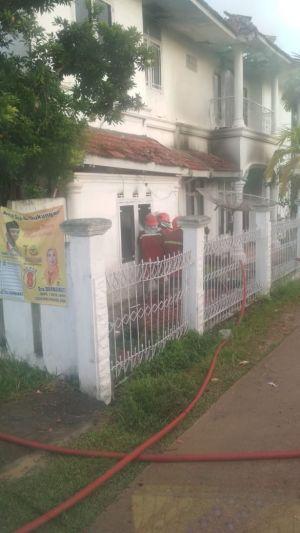 Rumah yang Terbakar di Belakang Nurul Ilmi Milik Kepala Kesbangpol Tanjabbar