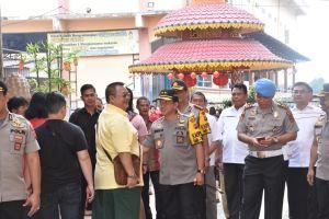 Pastikan Perayaan Imlek Berjalan Aman, Kapolda Tinjau Sejumlah Vihara