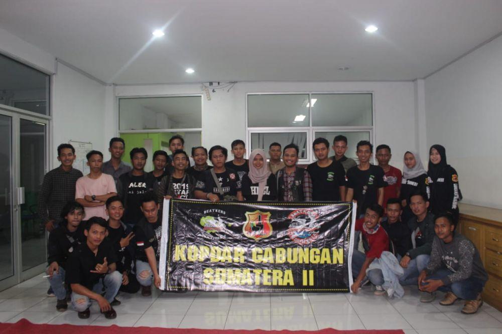 Dihadiri Ratusan Bikers, Kopdargab HBC Sumatera II Meriah