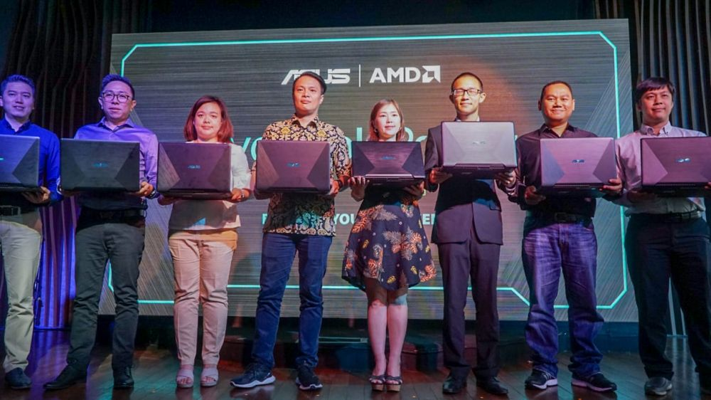 ASUS VivoBook Pro F570, Laptop 15 Inci dengan Ryzen dan Grafis Mumpuni
