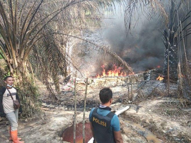 Tanggapi Terbakarnya Lokasi Illegal Drilling di Batanghari, Ini Penjelasan pertamina