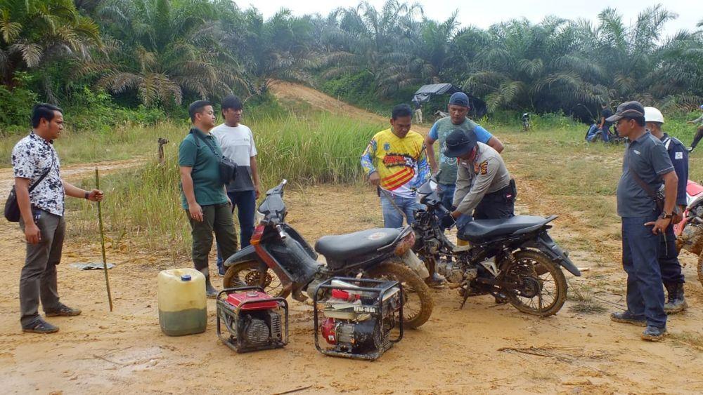 Amankan Enam Sepeda Motor, Polisi Hanya Temukan Pondok Tanpa Penghuni