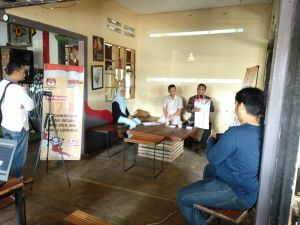 Gandeng KPU Kota, Basis warganet sampaikan cara memilih yang benar lewat Ngopi Bersamo