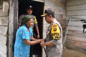 Membangun Kesadaran &  Partisipasi Untuk Menumbuhkan Kepercayaan, Kapolda Sambangi Desa Tangkit Lama