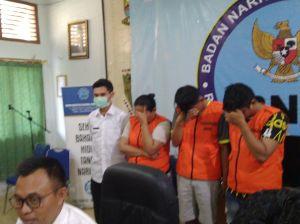 Tiga Penyelundup Sabu Jaringan Malaysia