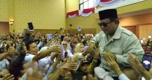 Prabowo Sebut  Kekayaan Indonesia Mengalir ke Luar Negeri