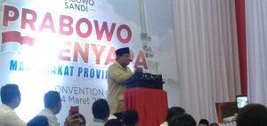 Prabowo: Emak Emak Gemes sama Saya