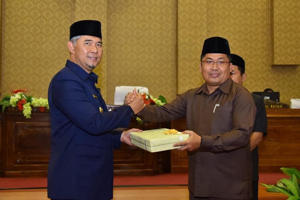 DPRD Kota Jambi Gelar Paripurna LKPj Walikota dan Wakil Walikota Tahun 2018