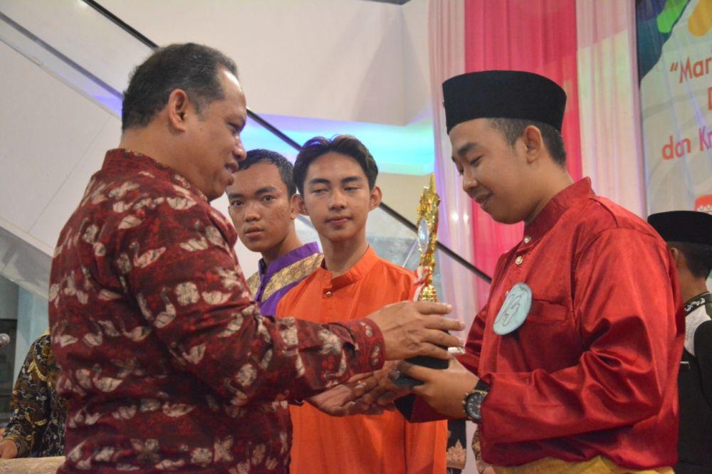 Kwarcab Pramuka Batanghari Juara Festival Adat Melayu Jambi