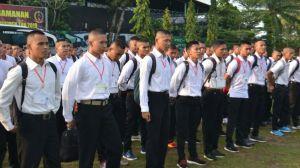 120 Calon Tamtama PK TNI AD Diberangkatkan dari Sub Panda Jambi