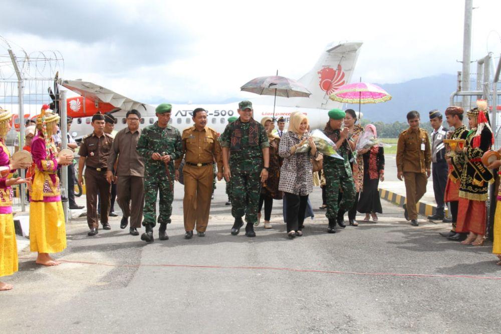 Kunjungan Kasdam II Sriwijaya Ke Kerinci Disambut Bupati Kerinci