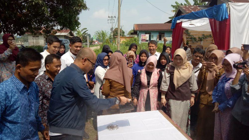 Setelah Batik Tulis, Pertamina EP Jambi Field Selenggarakan Pelatihan Batik Cap dan Teknik Pewarnaan