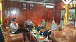Silaturahmi Ke Kodim 0417/Kerinci, Kapolda Jambi Harapkan pererat sinergitas antara TNI dan Polri
