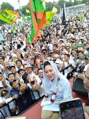 Titiek Soeharto : Aroma Kemenangan Prabowo Sudah Tercium Kuat