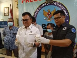 Lakukan Perlawana Kurir Sabu Ditembak Petugas BNNP