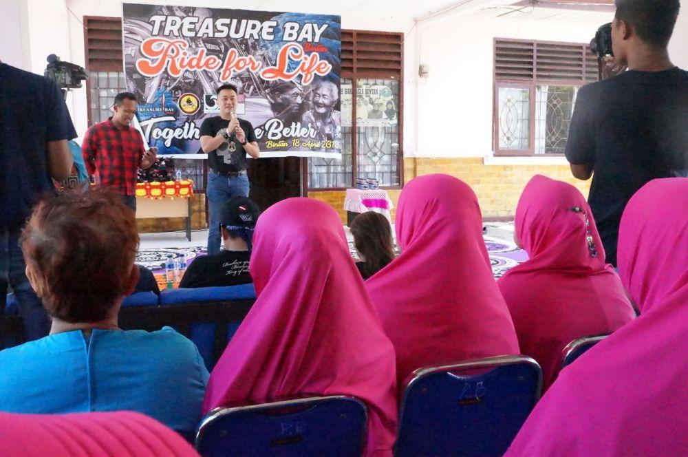 Setahun, Pengunjung Treasure Bay 180 Ribu