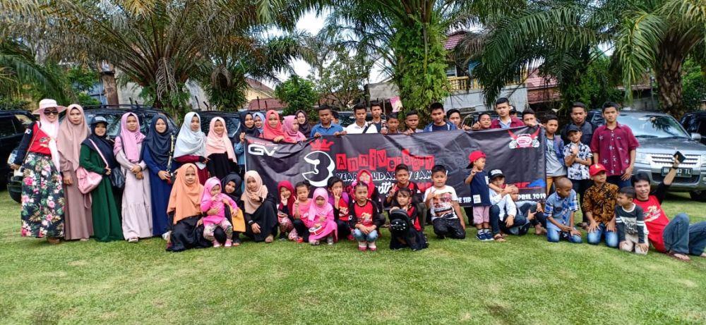 Id-GV Jambi Gelar Baksos dan Ajak 53 Anak Panti Wisata ke Kampoeng Radja