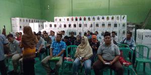 Pleno rekapitulasi penghitungan suara Kecamatan Jelutung, Jokowi-Ma'ruf menang telak di kelurahan Ta