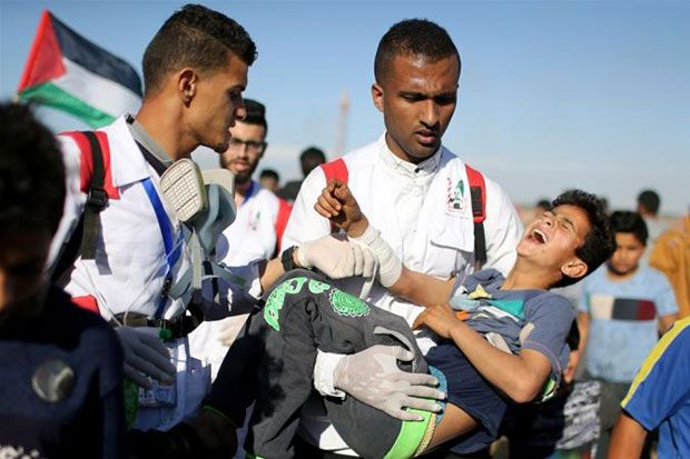 Israel Serang Warga Palestina Setelah Gencatan Senaja