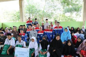 Pertamina EP Asset 1 Berbagi Berkah Ramadhan ke Pesantren Tahfidz dan Panti Asuhan di Jambi