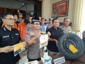 Diduga Digunakan untuk Lebaran, Polda Gagalkan Penyelundupan 1,2 Kg Sabu