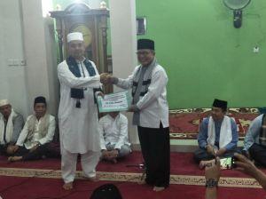 Bupati dan Wakil Bupati Safari Ramadhan di Masjid Sawahan Jaya