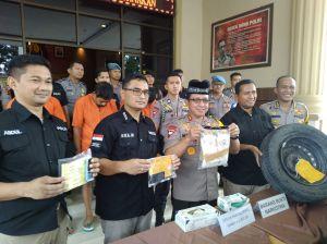 Sabu Rp 1,2 M Disimpan dalam Ban Serep  Diselundupkan  dari Aceh, Mau  Diedarkan di Jambi
