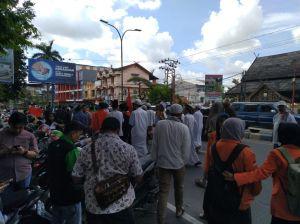 Kutuk Keras Penembakan di Jakarta, Massa Tuntut Kapolri Proses Hukum Pelaku