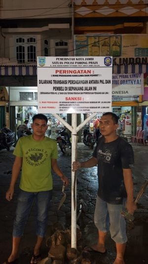 Soal PKL di Talang Banjar, Pemkot Jambi Juga Beri Sanksi Pada Pembeli