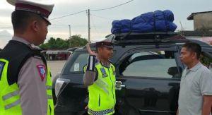 Masyarakat Apresiasi Kinerja Polda Jambi Dalam Pengamanan Arus Mudik dan Arus Balik
