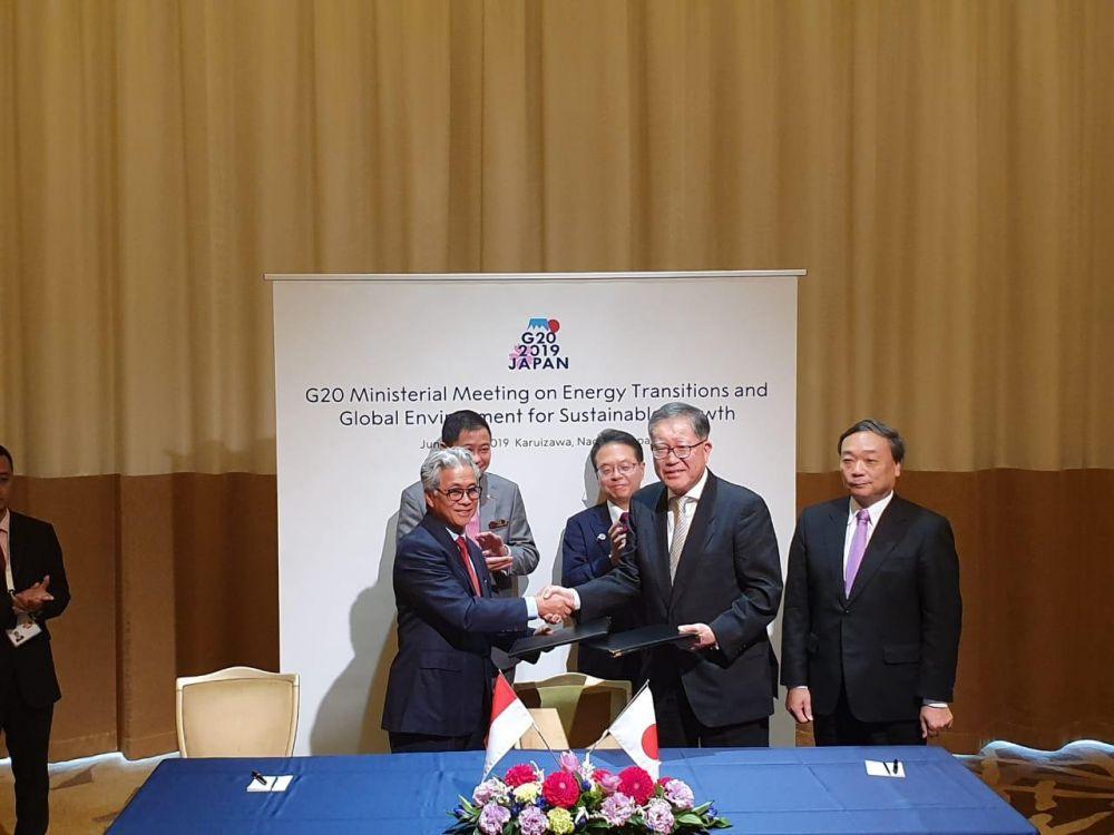 """SKK Migas dan INPEX Corporation Menandatangani """"Head of Agreement"""" (HOA) Pengembangan Lapangan Masel"""