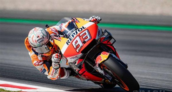 MotoGP 2019: Marc Marquez Beber Kesulitan Taklukkan Sirkuit Assen