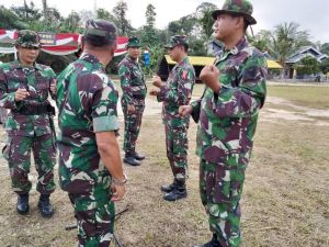 Persiapan Pembukaan Sudah 80 Persen, Gladi Pasukan TMMD Berjalan Lancar