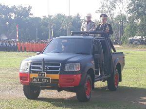 Kapolda Jambi, Pimpin Upacara HUT Bhayangkara ke 73