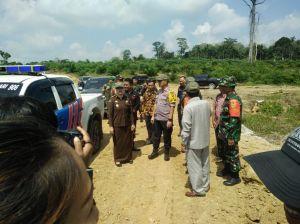 Dandim 0415/Batanghari Dampingi Bupati Tinjau Akses Jalan Baru Program TMMD