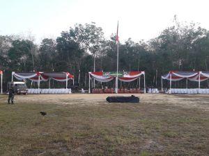 Pagi ini Bupati Batanghari Buka TMMD di Ladang Peris, akan Dihadiri 1000 Orang Lebih