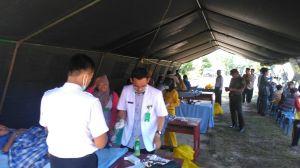 Sunatan Massal Berlangsung Lancar di Lokasi Pembukaan TMMD Kodim 0415/Batanghari