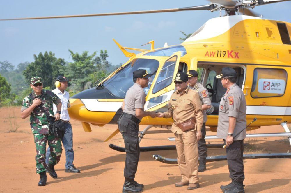 Pasca Penyerangan SMB ke Timdu, Kapolda, Danrem Hingga Gubernur Tinjau Lokasi