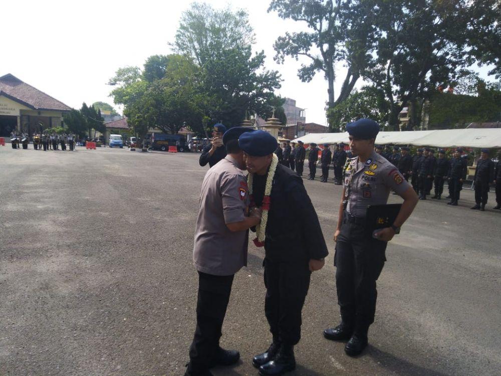 Sambut Personel BKO Polda Papua, Kapolda Jambi :Jadikan Ini Pengalaman Terbaik