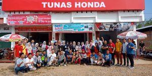 Servis Cukup Bayar 30 Ribu, Ini Dia Serunya Senam Sehat Tunas Honda Bungo