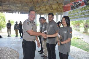 Kabid Humas Ucapkan Terimakasih Kepada Narasumber Pelatihan Fungsi Humas Manejemen Media, Fotografi