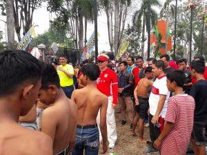 Ribuan Warga Antusias Saksikan Semarak Merah Putih