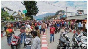 Merasa Ditipu Korlap Aksi, Ratusan Massa Demo di Papua Menyesal Berbuat Anarkis