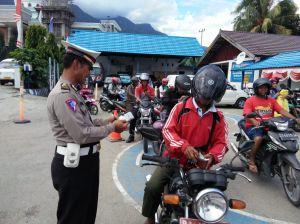 Antisipasi Unjuk Rasa Susulan, Polisi Razia Senjata Tajam di Jayapura dengan 3S