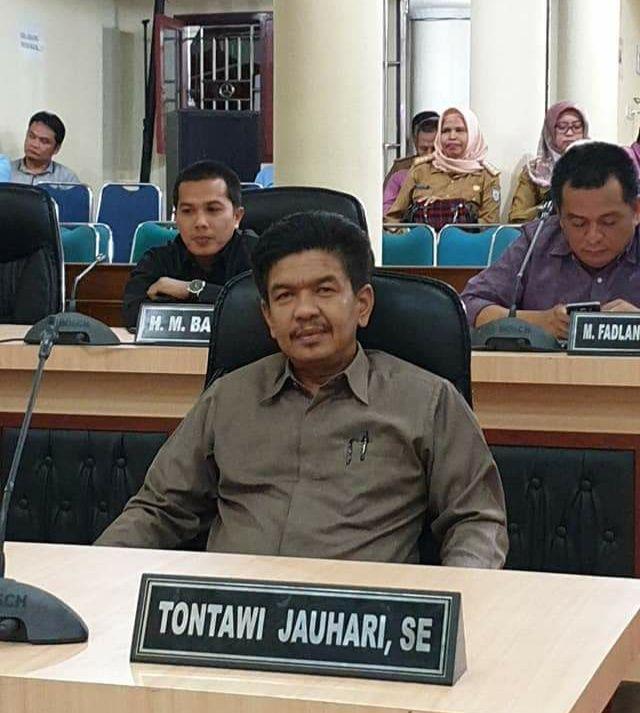 Tontawi Jauhari, Ketua DPRD Sarolangun Periode 2019-2024.